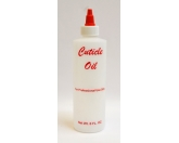 Empty Cuticle Oil Bottle 8 Oz